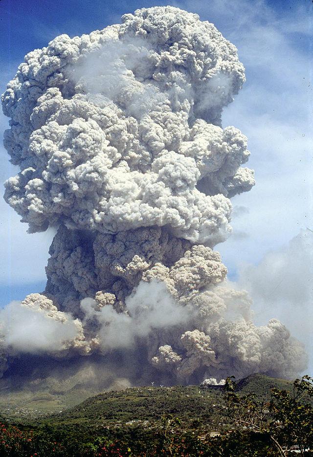 Soufriere Hills Volcano, Montserrat - Volcano Top Trumps