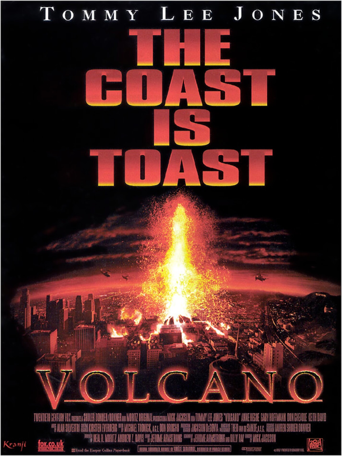It was never going to win any Oscars, but hey, there is a VOLCANO!